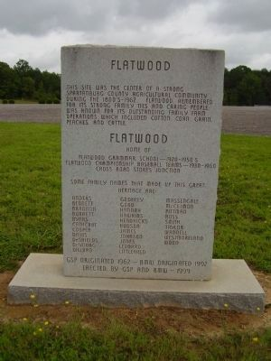 Flatwood Marker image. Click for full size.