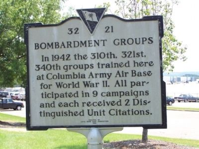 Bombardment Groups Marker image. Click for full size.