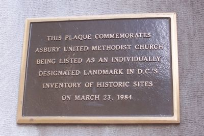 Asbury United Methodist Church image. Click for full size.