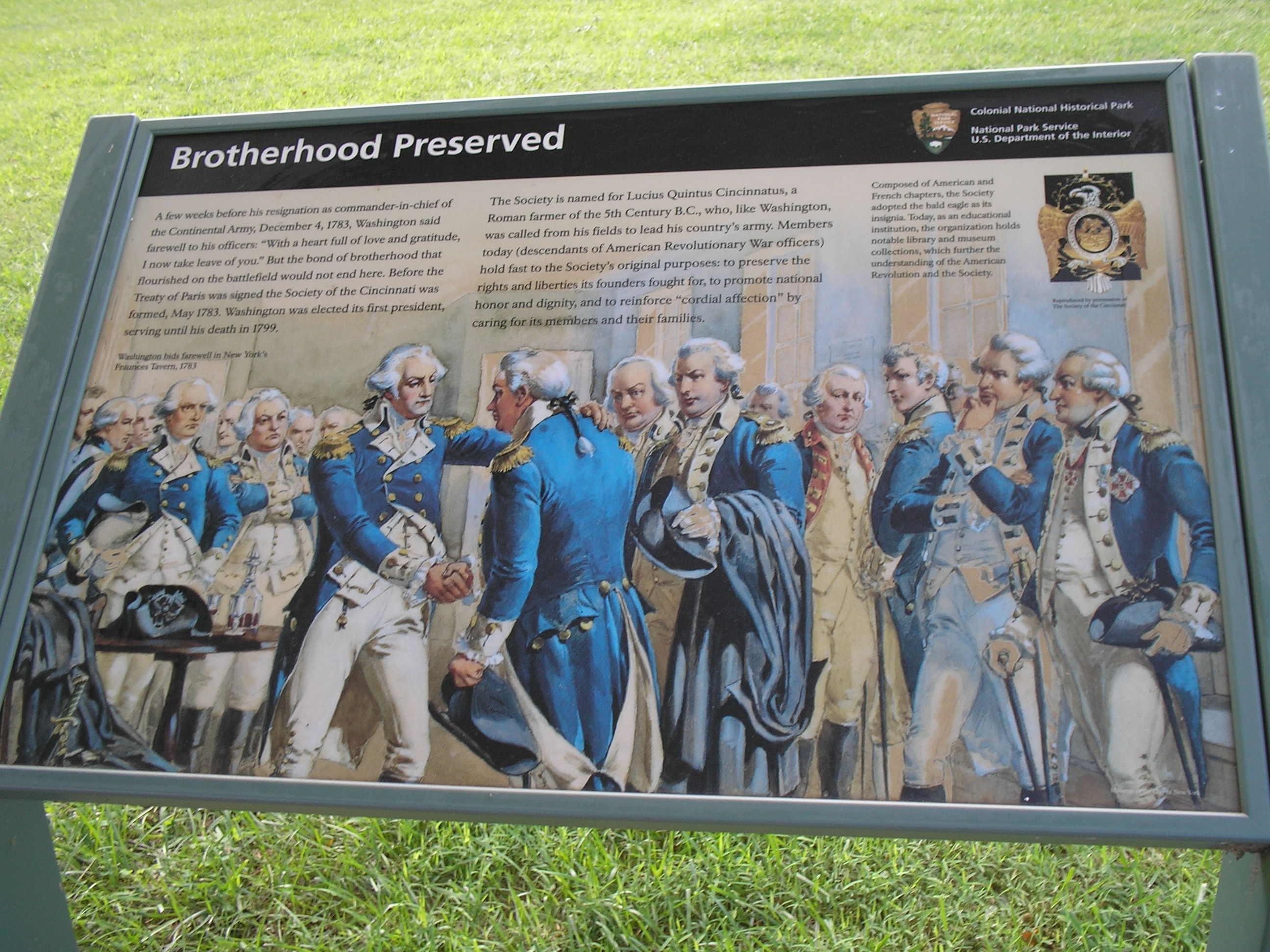 Brotherhood Preserved Marker