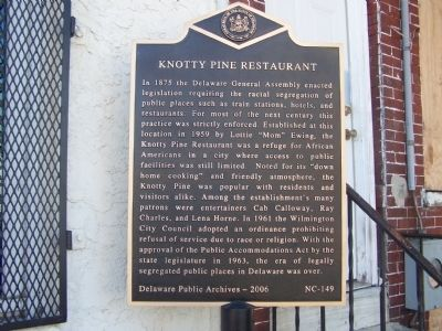 Knotty Pine Restaurant Marker image. Click for full size.