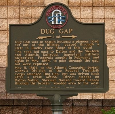 Dug Gap Marker image. Click for full size.