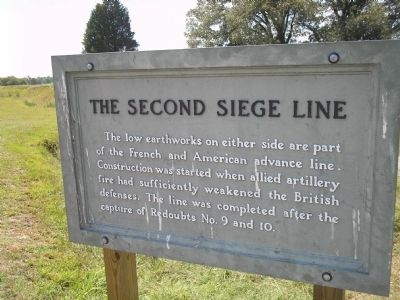 The Second Siege Line Marker image. Click for full size.
