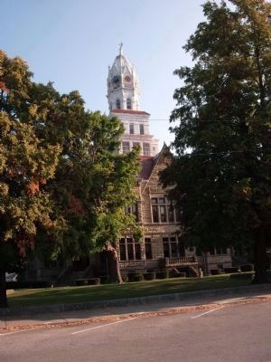 Edgar County Court House, Paris, Illinois image. Click for full size.