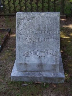 James L. Pierpont Grave at Laurel Grove Cemetery, Savannah image. Click for full size.