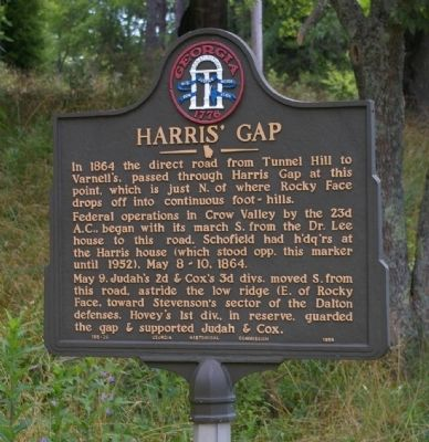 Harris' Gap Marker image. Click for full size.