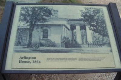 Arlington House, 1864 Marker image. Click for full size.