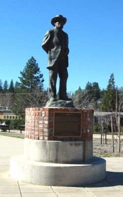 Schuyler Colfax Monument and Marker image. Click for full size.