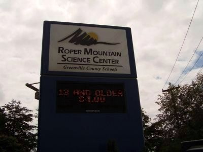 Roper Mountain Science Center image. Click for full size.