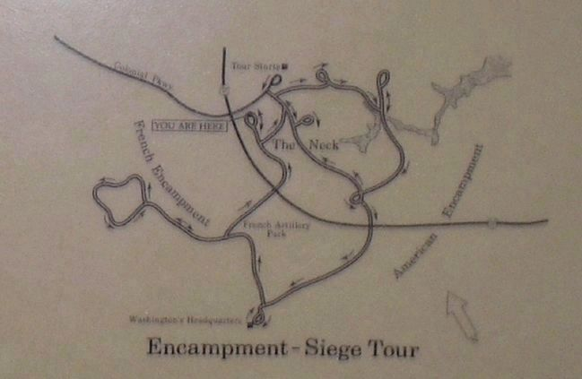 Encampment - Siege Tour Map image. Click for full size.