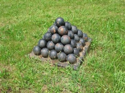 Stands of Cannonballs image. Click for full size.