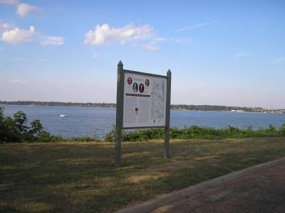 Marker on the York River image. Click for full size.
