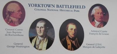 Allied Leaders at Yorktown image. Click for full size.