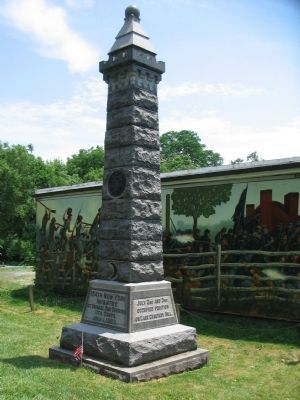 154th New York Infantry Monument image. Click for full size.