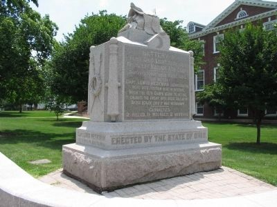 Battery K, First Ohio Light Artillery Monument image. Click for full size.