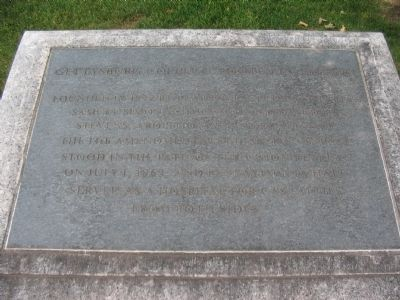Gettysburg College Rooted in History Tablet image. Click for full size.