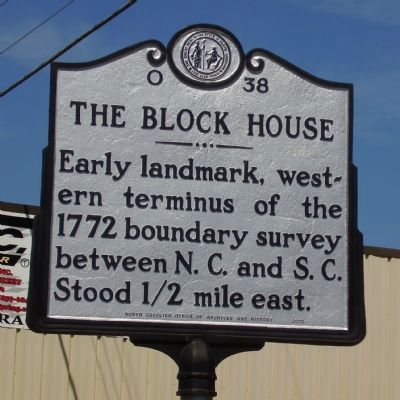 The Block House Marker image. Click for full size.