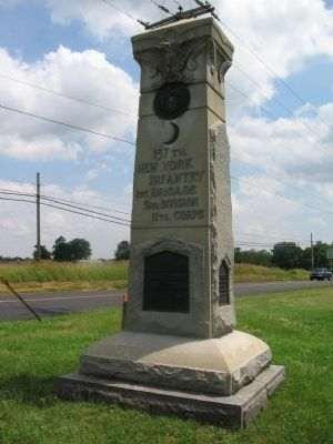 157th New York Infantry Monument image. Click for full size.