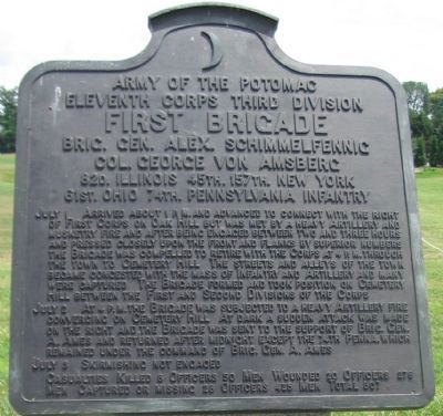 First Brigade Tablet image. Click for full size.