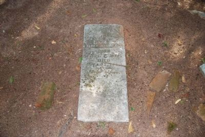 Elizabeth Reece Tombstone image. Click for full size.
