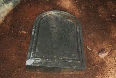 David Reece Tombstone image. Click for full size.