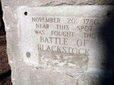 Battle of Blackstock Marker image. Click for full size.