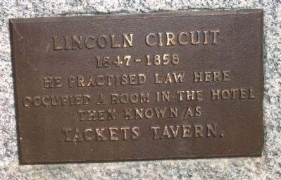 Lincoln Circuit (Smaller) Marker image. Click for full size.