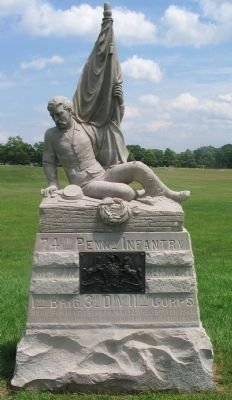 74th Pennsylvania Infantry Monument image. Click for full size.