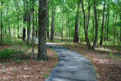 Start of the Walking Trail at Ninety Six National Historic Site image. Click for full size.