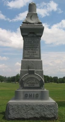 Battery I, First Ohio Light Artillery Monument image. Click for full size.