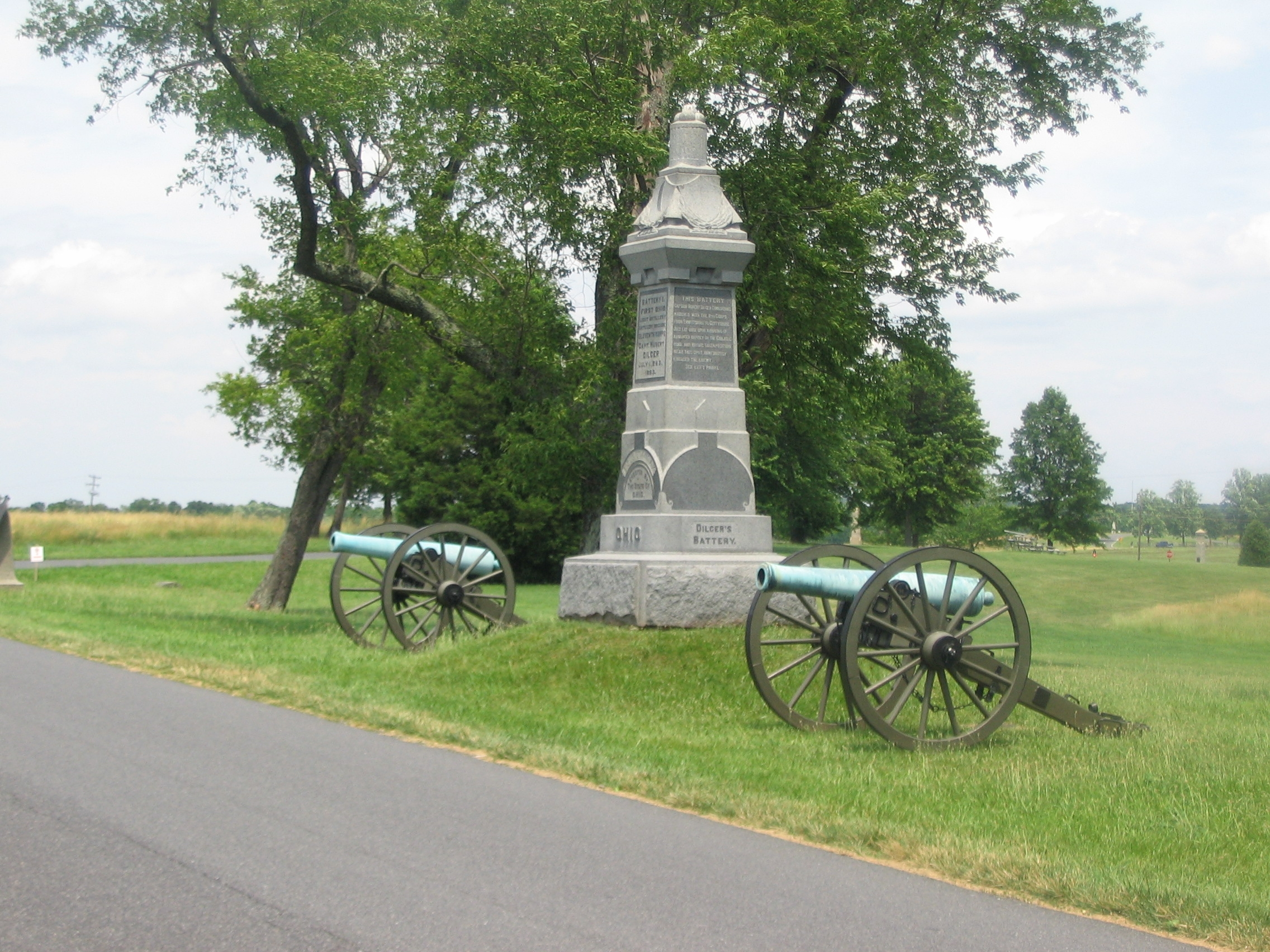 Battery I, First Ohio Light Artillery Monument