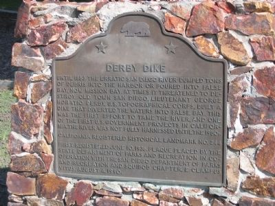 Derby Dike Marker image. Click for full size.