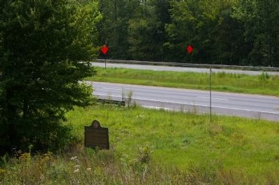Sacred Harp Singing Marker and US 27 image. Click for full size.