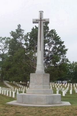Canadian Cross of Sacrifice Marker image. Click for full size.