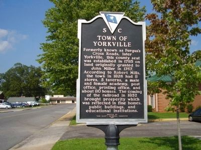 Town of Yorkville Marker image. Click for full size.