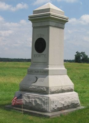 119th New York Infantry Monument image. Click for full size.