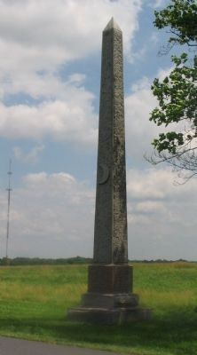 26th Regiment Wisconsin Volunteer Infantry Monument image. Click for full size.