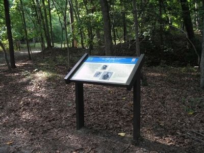 Marker in in Newport News Park image. Click for full size.