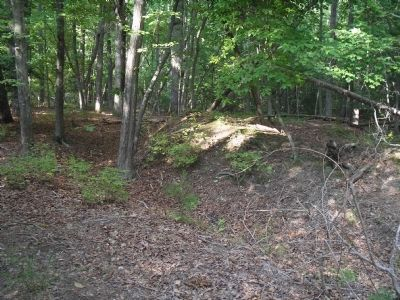 Confederate Earthworks image. Click for full size.