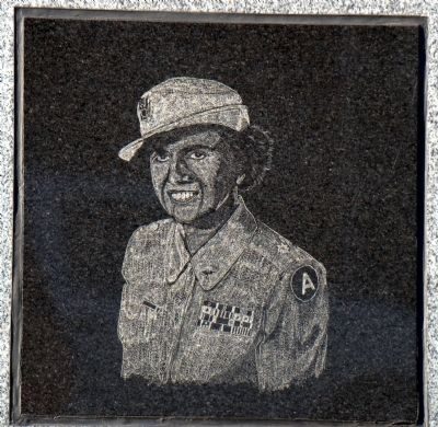 Col. Ruby G. Bradley image. Click for full size.