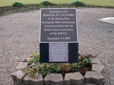 Pioneer Jet Avaitors of the Korean War Marker image. Click for full size.