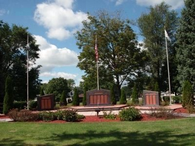 Vermilion County War Memorial image. Click for full size.