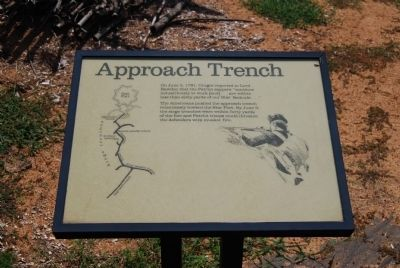 Original Approach Trench Marker image. Click for full size.
