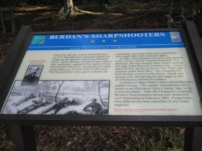 Berdan's Sharpshooters Marker image. Click for full size.