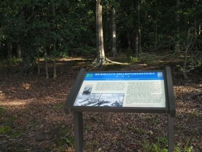 Marker in Newport News Park image. Click for full size.