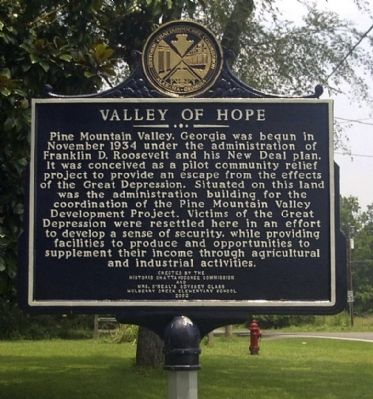 Valley of Hope Marker image. Click for full size.
