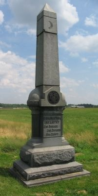 58th New York Infantry Monument image. Click for full size.