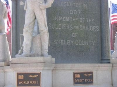Soldiers and Sailors Monument Marker image. Click for full size.