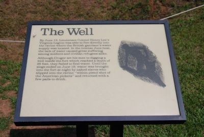 Original The Well Marker image. Click for full size.