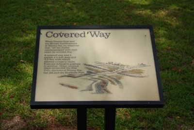Original Covered Way Marker image. Click for full size.